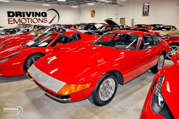 1971 Ferrari Other 365 GTB-4 Daytona Coupe 1971 Ferrari 365 GTB4 Daytona 365 GTB-4 Daytona Coupe 47202 Miles Red Coupe 4.4