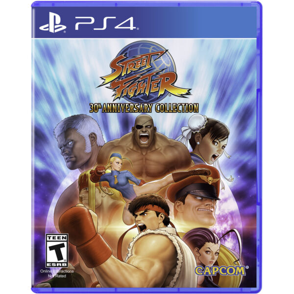 Street Fighter: 30th Anniversary Collection PS4 Brand New