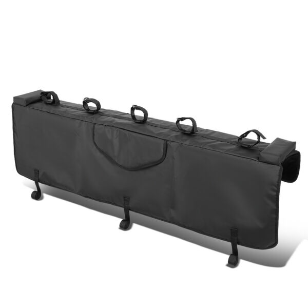 53quot;W WATERPROOF PICKUP TRUCK BED TAILGATE CRASH PAD PROTECTOR COVER W BIKE RACK $69.88