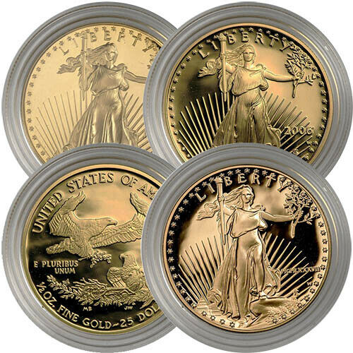 12 oz Proof American Gold Eagles (Random Year Capsules Only)