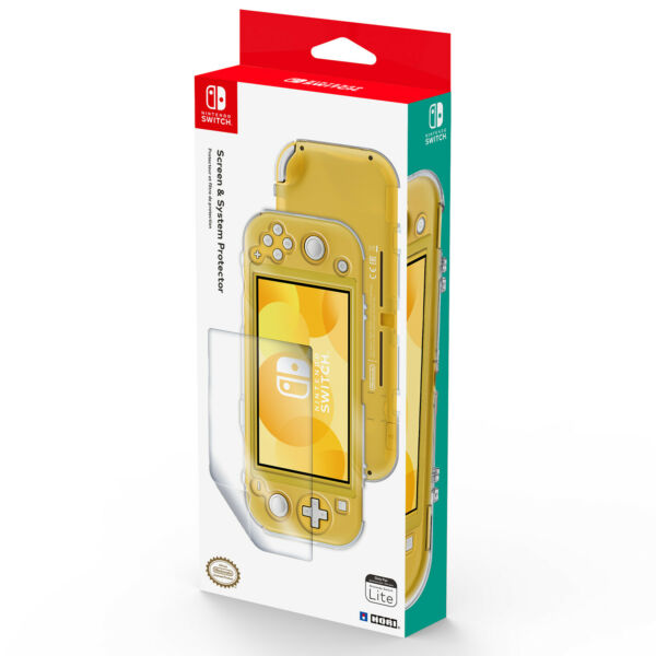 HORI - Screen and System Protector for Nintendo Switch Lite [Brand New]