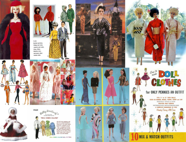 Barbie Ken Skipper Fits All Fashion and Teen Dolls Clothing Patterns