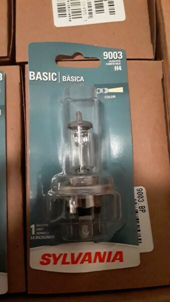 Headlight Bulb- 120 mega lot- Sylvania 9003.BP- The Real Deal- Free shipping!!!