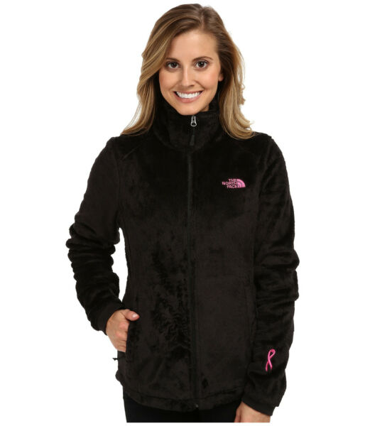 New Womens The North Face Ladies Osito Fleece Coat Top Jacket Black