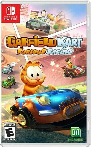 Garfield Kart: Furious Racing for Nintendo Switch New Video Game