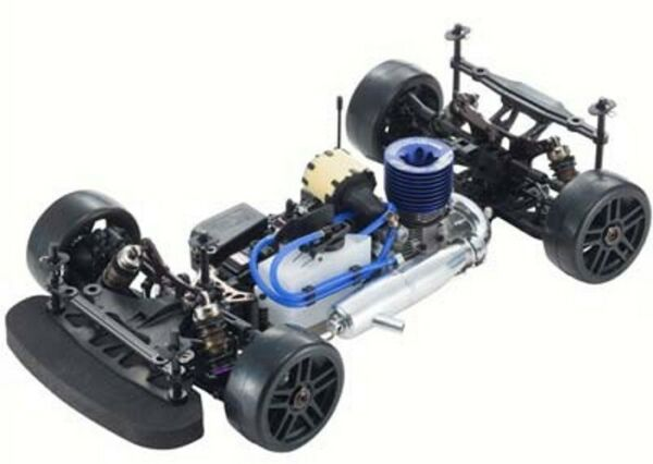 Kyosho 33010B 18 Inferno GT3 Gp 4wd On-Road Race Car Kit