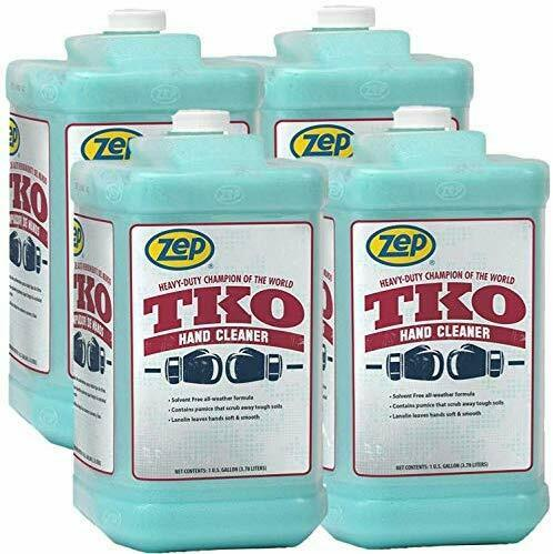 Zep Heavy Duty TKO Hand Cleaner 128 oz. R54824 Case of 4 Pump Included $89.00