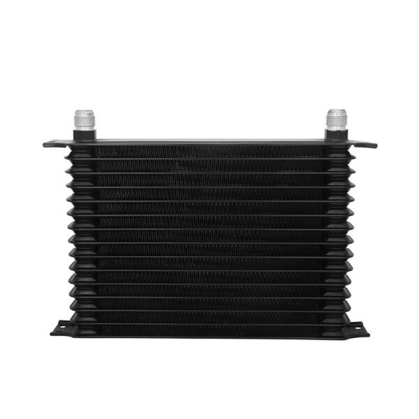 Aluminum Car Truck Engine Transmission Oil Cooler Trust Type 15 Row 10AN Black
