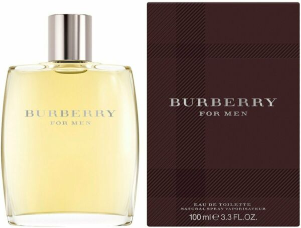 BURBERRY CLASSIC by Burberry cologne for men EDT 3.3 3.4 oz New in Box $26.57