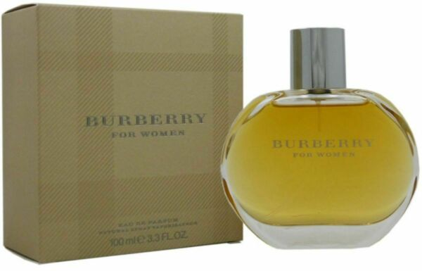 BURBERRY CLASSIC by Burberry perfume for women EDP 3.3 3.4 oz New in Box $30.07