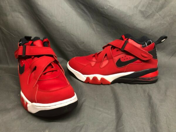 Nike Men's Air Force Max CB Basketball Sneakers Red Navy White Size 11 NWOB!