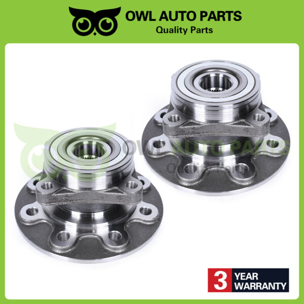 2 Front Wheel Hub Bearing Assembly for 94-99 Ram 2500 4WD 8-Lug DANA 60 515012