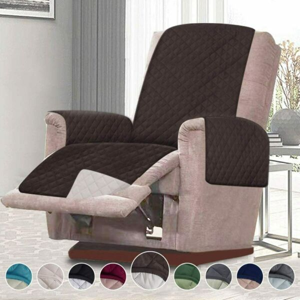 21quot; Recliner Cover Lazy Boy Chair Furniture for Pets Hair Kids Protector Quilted $18.99