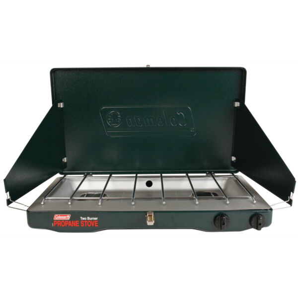 Coleman 2 burner Portable Propane Gas Stove 10000 BTU Outdoor Cooking Camping