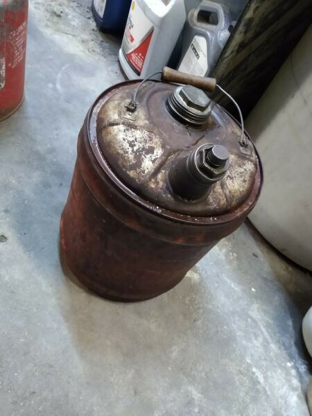 Vintage 5 Gallon Gas Can