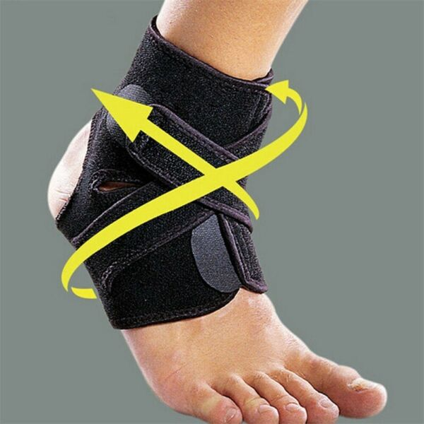 Day Night Foot Drop Orthosis Brace Ankle Plantar Fasciitis Splint Support Wrap