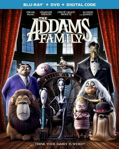 The Addams Family New Blu ray With DVD Digital Copy