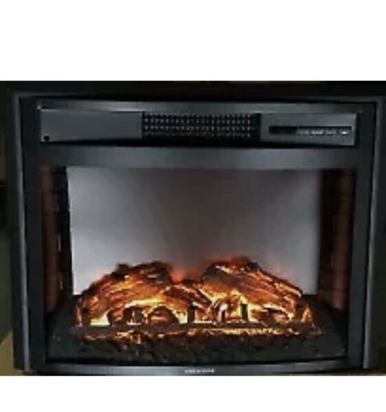 """GREYSTONE 26"""" Inch RV Camper Electric FIREPLACE With Remote Curved Front WF2613R"""
