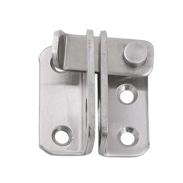 Stainless Steel Gate Door Latches Bolt Safety Door Locks with Padlock Hole B
