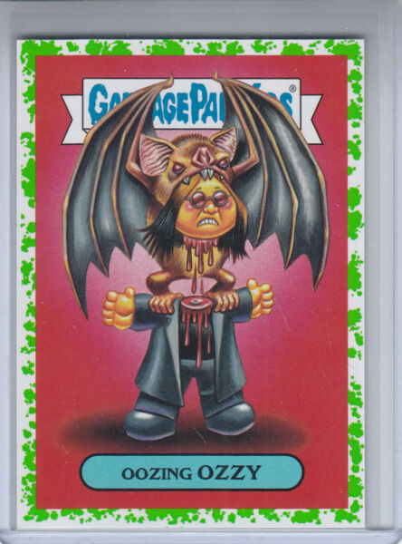2017 Garbage Pail Kids Battle of the Bands Metal Card # 1a Oozing OZZY ( MINT )