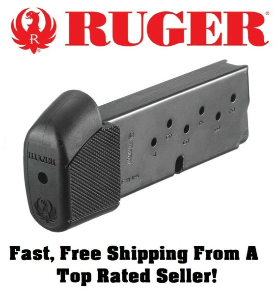 Ruger LC9 LC9s EC9s 9mm Pistol Extended 9 Round OEM Magazine Mag Clip 90404 2A