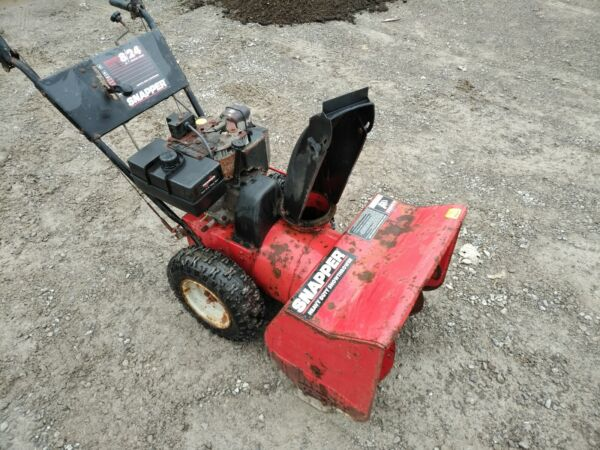 Snapper 2 Stage Snow Thrower 8 Horsepower 24