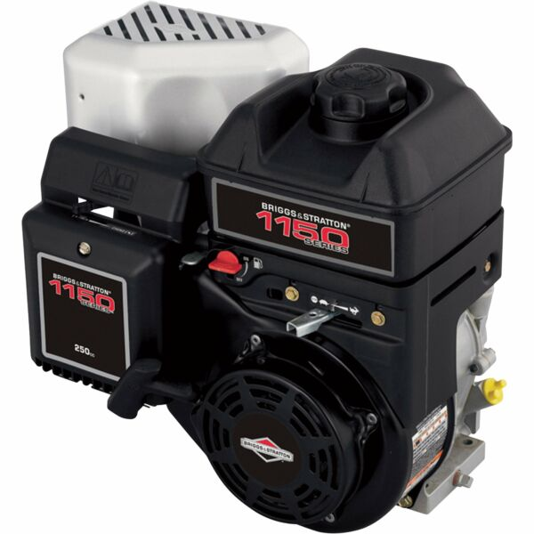 Briggs & Stratton 1150 Series Horizontal OHV Engine- 250cc 1in x 2 78in Shaft