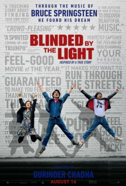 Blinded By The Light movie poster a 11 x 17