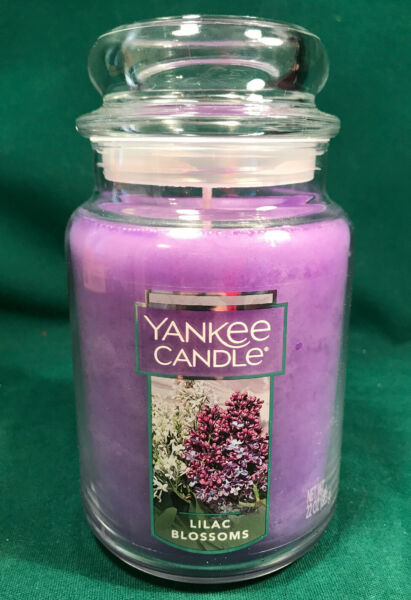 NEW Lilac Blossoms Yankee Candle Large Jar 22oz spring scent fresh