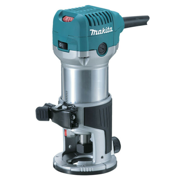 Makita 1 1 4 HP 120V Compact Router RT0701CR Certified Refurbished
