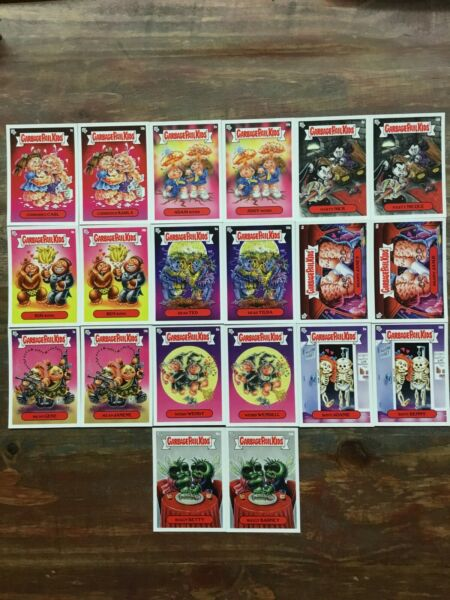 2020 Topps Garbage Pail Kids: Mr. & Mrs. Valentines 20 Card Base Set Only! GPK