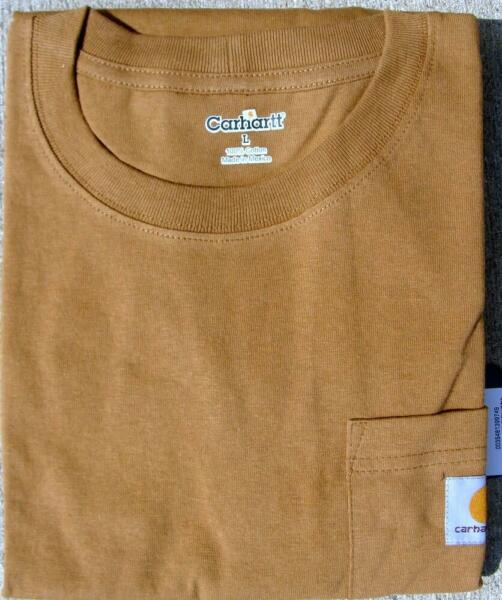 Carhartt Men's Workwear Pocket T-Shirt - Various Sizes and Colors $14.99