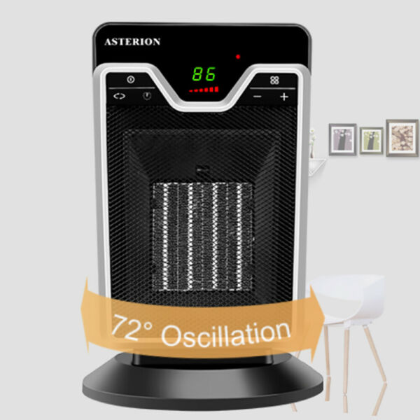 1500W Electric Ceramic Space Heater Thermostat Timer Fan Freeze Remote Control