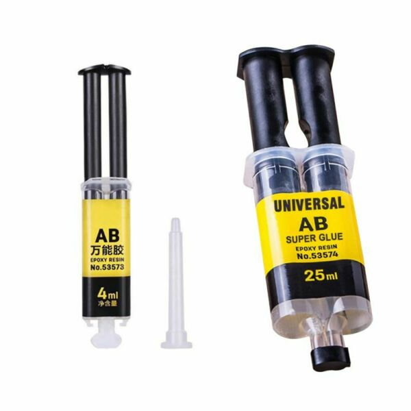 AB Strong Adhesive Universal Metal Plastic Glue Resin Wood Liquid Repair Glue