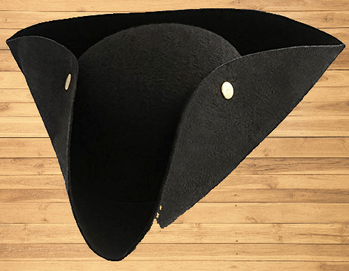 Kangaroo Deluxe Tricorn Felt Pirate Hat Adult pirate Costumes for Boys $12.85