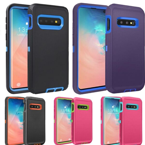 Shockproof Hybrid Protective Rugged Case Cover For Samsung Galaxy S10 Plus S10e