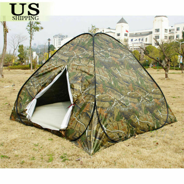 3 Person Outdoor Camping Waterproof Automatic Instant Pop Up Tent Camouflage US $48.22