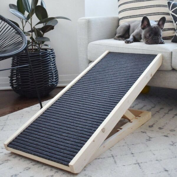 PawRamp Dog Ramp 4 Adjustable Heights Bed Couch Pet Ramp 40quot; Folds Flat $149.99