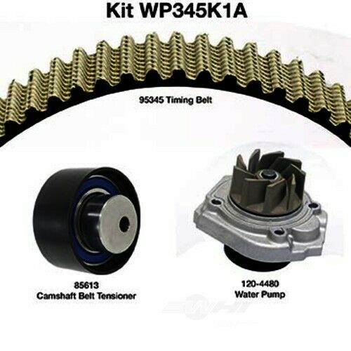 Engine Timing Belt Kit with Wate fits 2012-2017 Fiat 500 500L 500X  DAYCO PRODUC
