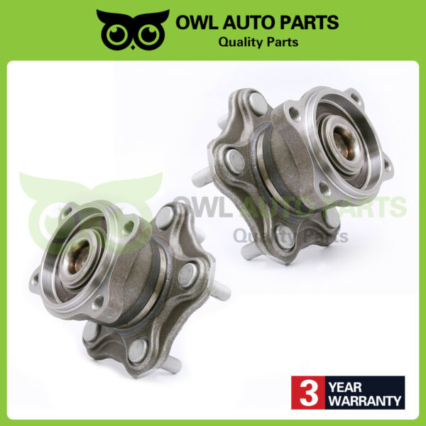 2 Rear Wheel Bearing for Nissan 2002-2006 Altima  2004-09 Quest  04-08 Maxima