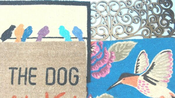 Decorative Outdoor Door Mats