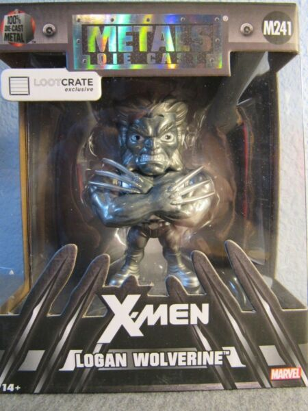 Loot Crate Exclusive Metals Die Cast X Men M241 Logan Wolverine New Lootcrate