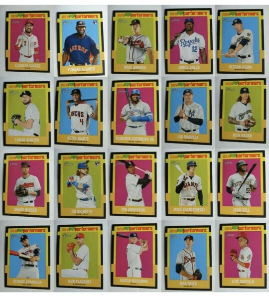 2020 Topps Heritage New Age Performers Card U Pick From List #1-#25