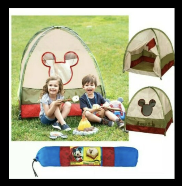 ⛺️Disney Parks Junior Mickey Mouse Mouse-Ka-Camp Exclusive Kids Play Tent New ⛺️
