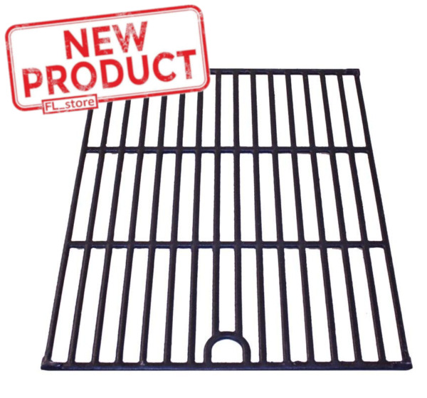 BBQ Grill Grate Cast Iron Grid 13quot;x17quot; Outdoor Camping Barbecue Cooking Nexgrill