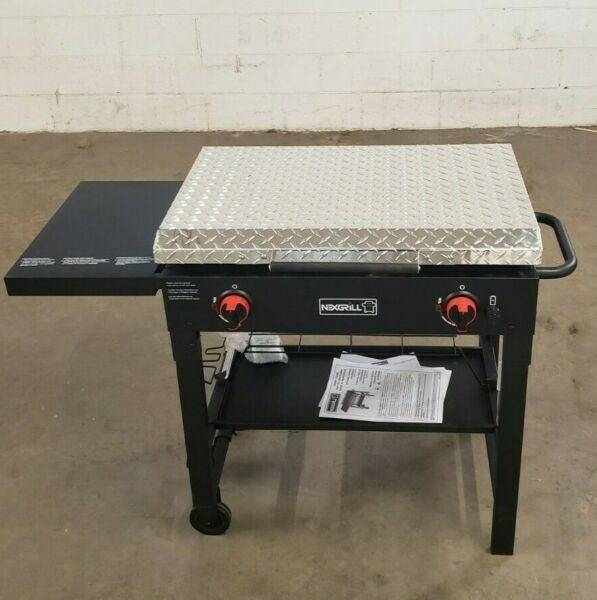 Nexgrill Tailgating Grill NOT INCLUDED 2 Burner 29quot; diamond plate hard cover