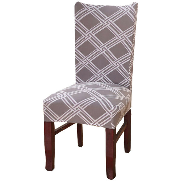 Stretch Spandex Dining Chair Slipcovers Protector Washable Chair Seat Cover Home $12.26