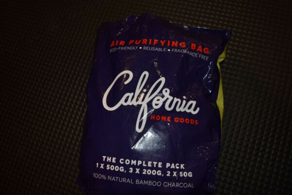 California Home Goods Air Purifying Charcoal Bags 6 Pack
