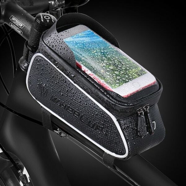 Bicycle Bag Front Frame Bycicle Waterproof Cycling Top Tube Bag Bike Accessories $14.87