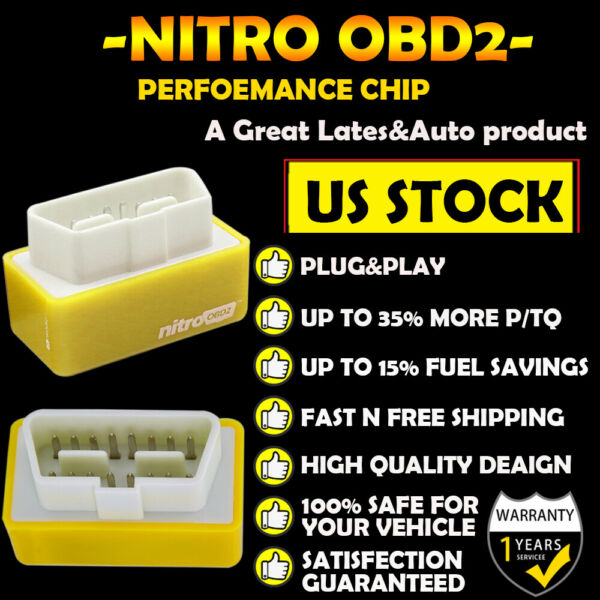 OBD2 Fuel Pro Power Performance Chip For Chevy Silverado 1500 Save Gas 4.8 4.3L